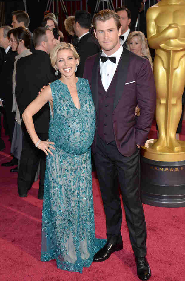 "Fashion Police Mock Super Pregnant Elsa Pataky: ""Horrible,"" ""Beer Belly"""