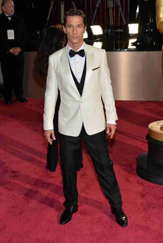Watch Matthew McConaughey Win Best Actor and Thank Himself at 2014 Oscars (VIDEO)