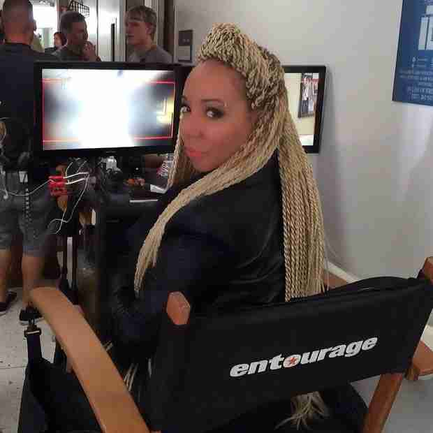 Tiny Harris Lands Cameo in New Major Movie — Check Her Out on Set! (PHOTO)