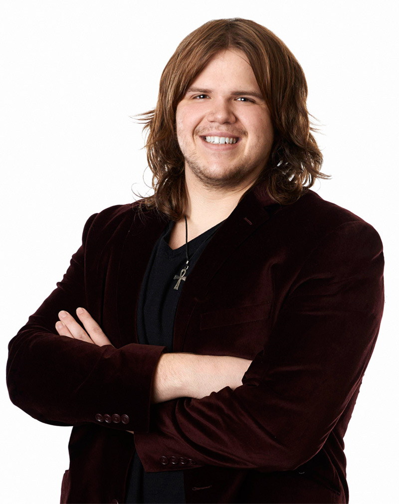 "Watch Caleb Johnson Sing ""Working Man"" in American Idol 2014 Top 12 — March 5, 2014"