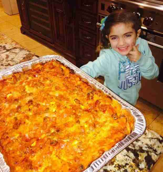 Teresa Giudice Continues to Focus on Family — And Food!  (PHOTO)