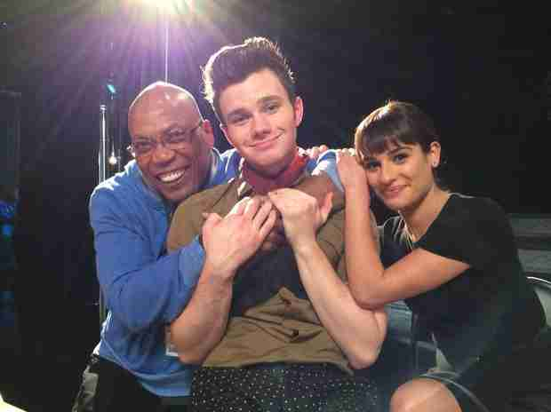 "Chris Colfer Wants to ""Torture"" Glee Cast Members With Episode He's Writing"