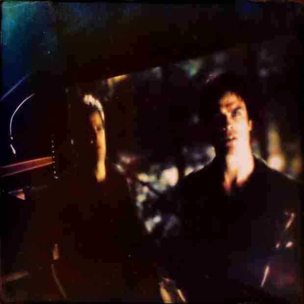 Vampire Diaries Spoilers: What Are the Salvatore Brothers Doing in Season 5, Episode 20? (PHOTO)