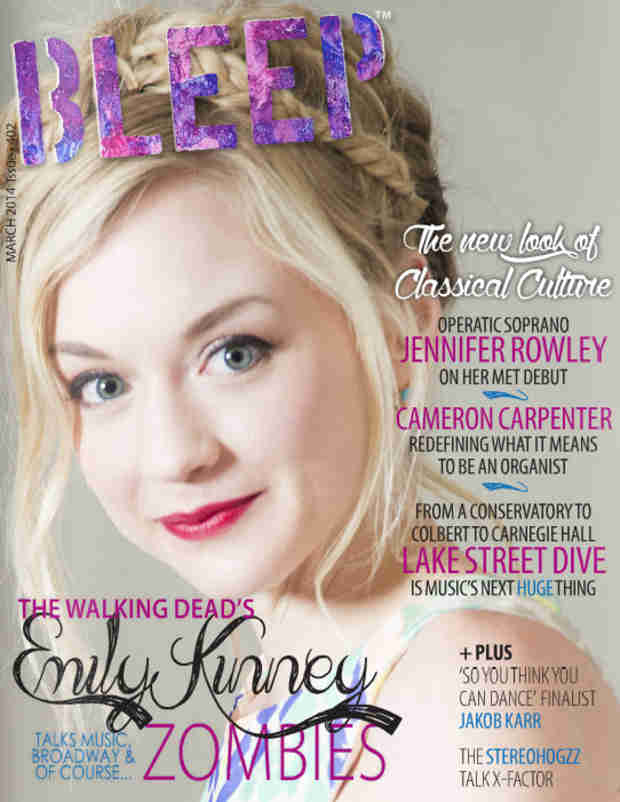 "Emily Kinney Talks ""Emotionally Draining"" Nature of The Walking Dead in Bleep Magazine (PHOTO)"