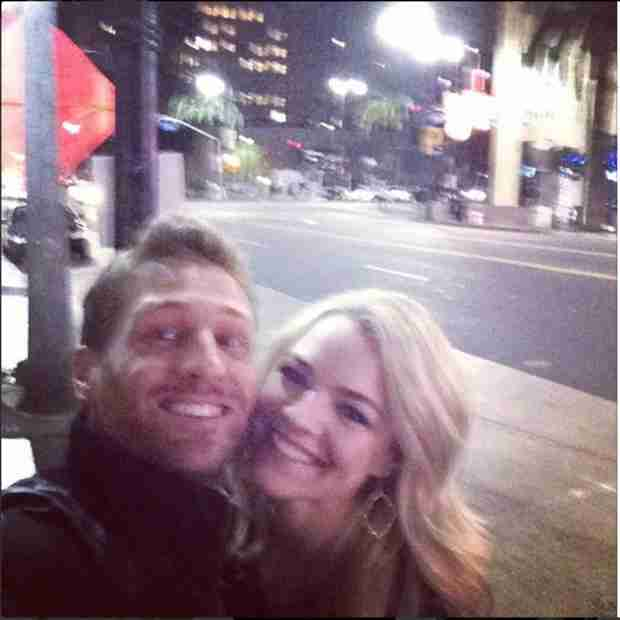 Juan Pablo Galavis and Nikki Ferrell Spotted Kissing at Miami Art Event