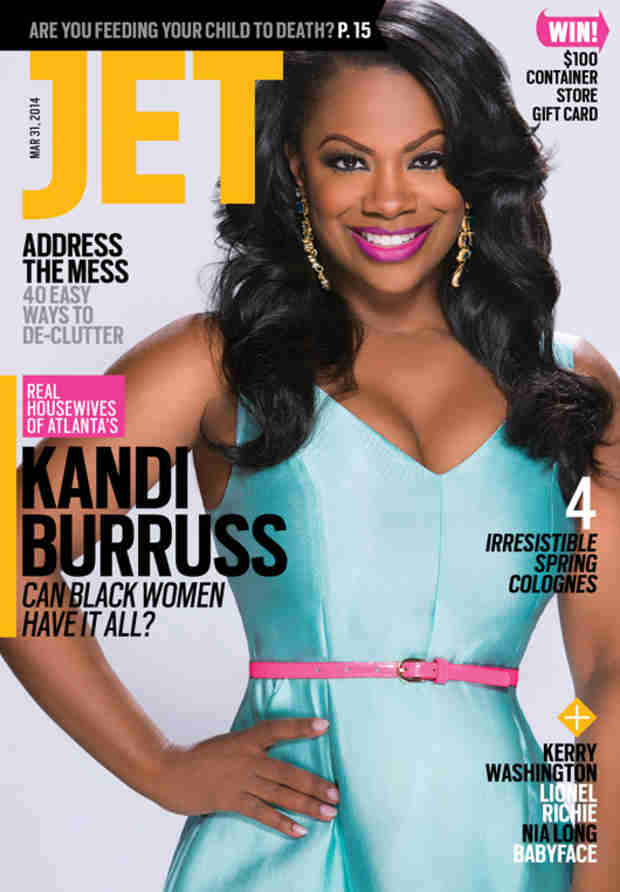 Kandi Burruss Covers JET Magazine, Says She and Todd Tucker Have a Wedding Date! (PHOTO)