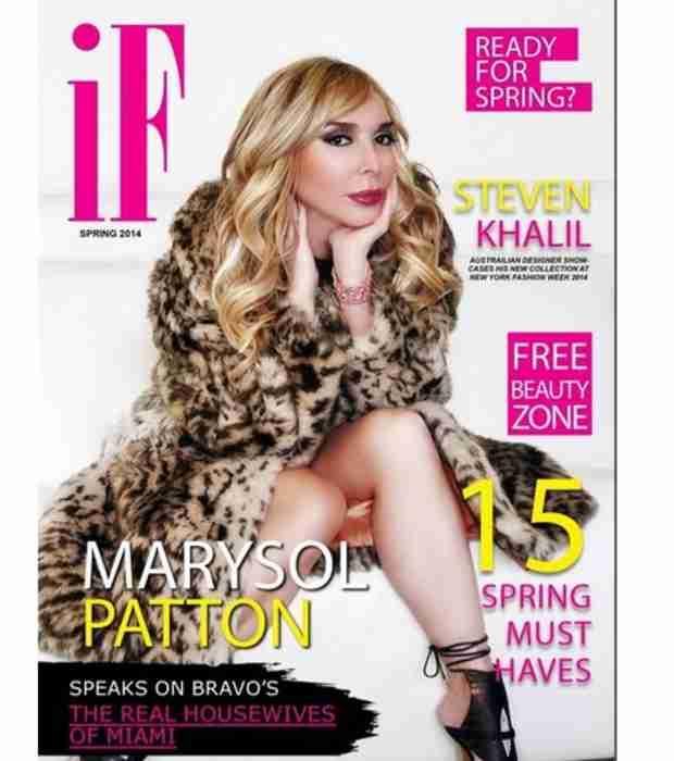Marysol Patton Goes Glam on I Fathom Magazine's Cover (PHOTO)