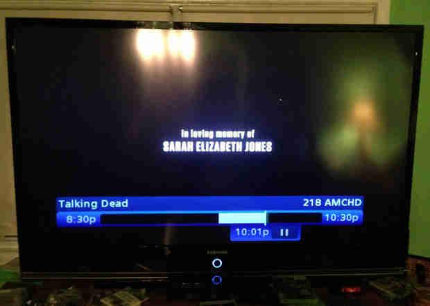 The Walking Dead Season 4, Episode 12 Pays Tribute to Sarah Jones