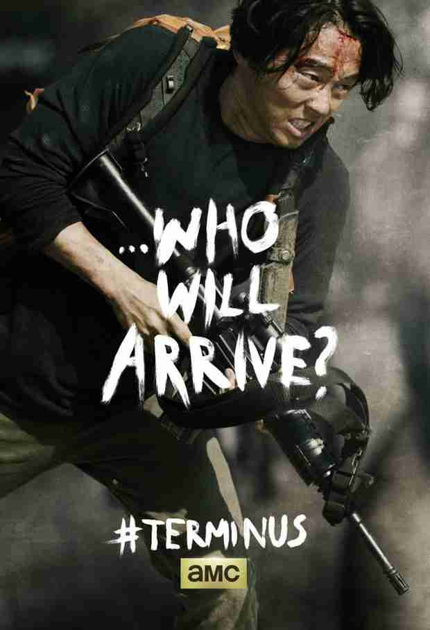 The Walking Dead Season 4 Finale: Glenn Shown in New Terminus Poster (PHOTO)