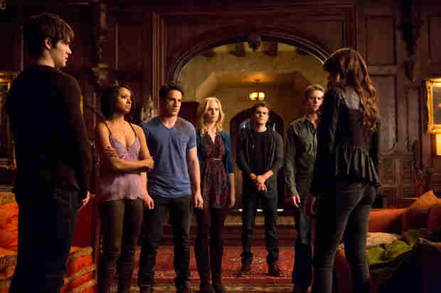 The Vampire Diaries Recap: Season 5, Episode 15 — Katherine Dies, Ripper Elena Is Born