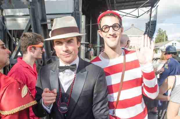 Vampire Diaries Star Ian Somerhalder Finds Waldo in New Orleans (PHOTO)
