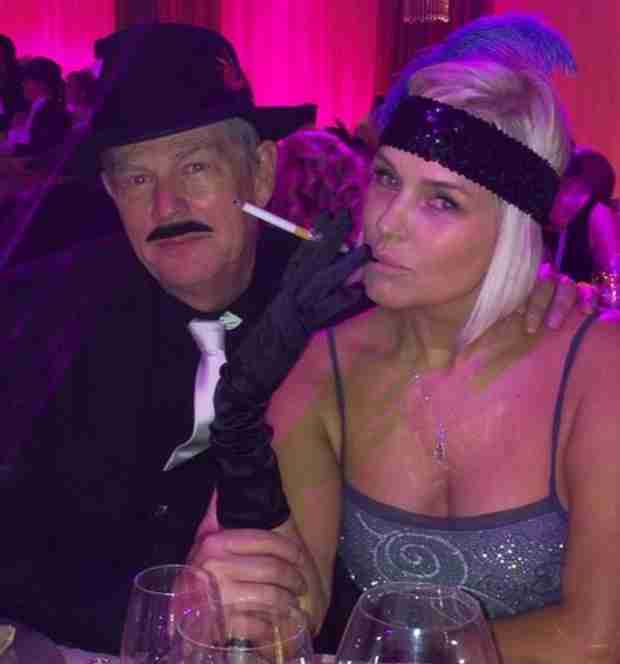 Yolanda Foster and Hubby David Go '20s Glam on Adorable Date Night (PHOTO)