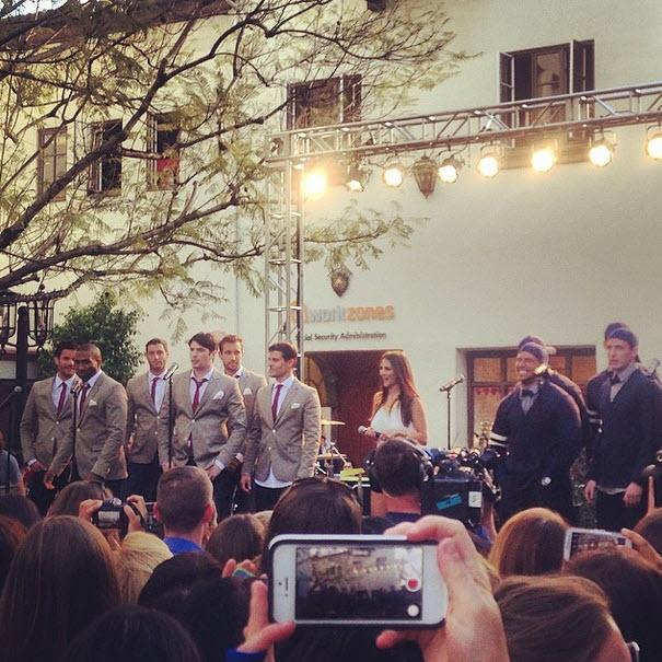Bachelorette 2014 Spoilers: See Andi Dorfman on Boyz II Men Group Date! (PHOTO)