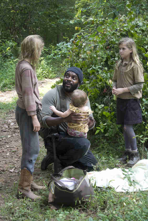 The Walking Dead Season 4: What's it Like to Work With Baby Judith? Emily Kinney Says…
