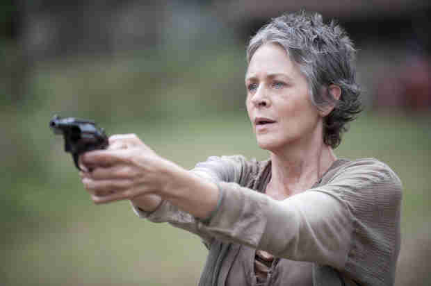 The Walking Dead Season 4: Why Did Carol Go Back to the Prison and How Much of The Governor Battle Did She See?