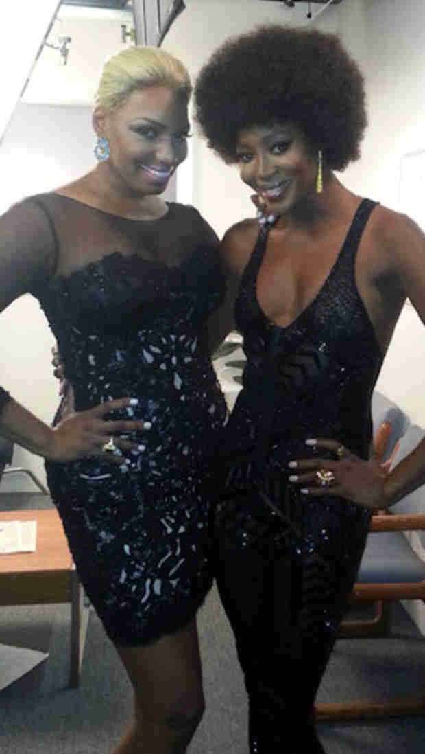 """NeNe Leakes Meets Up With """"Her Girl"""" Naomi Campbell — What Are They Doing? (PHOTOS)"""