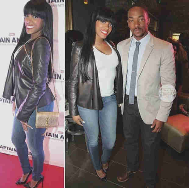 Porsha Stewart Cozies Up to Actor Anthony Mackie at Movie Premiere — Couple Alert? (PHOTO)