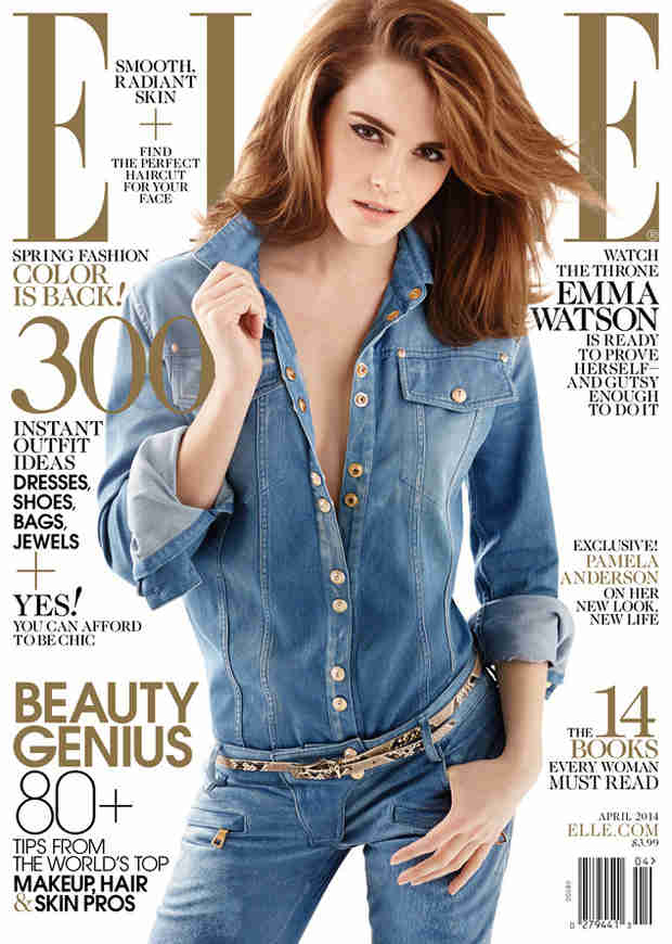 "Emma Watson Covers Elle: I'm ""So Jealous"" of Actresses Who Didn't Grow Up in The Public Eye"