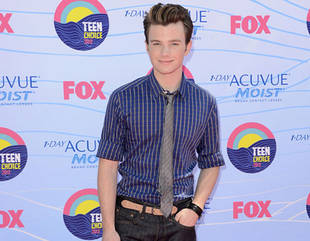 "Chris Colfer Says His Episode of Glee Will Be About ""Animals and the Elderly"""