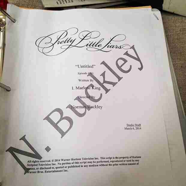 Pretty Little Liars Season 5 Premiere Script Tease (PHOTO)