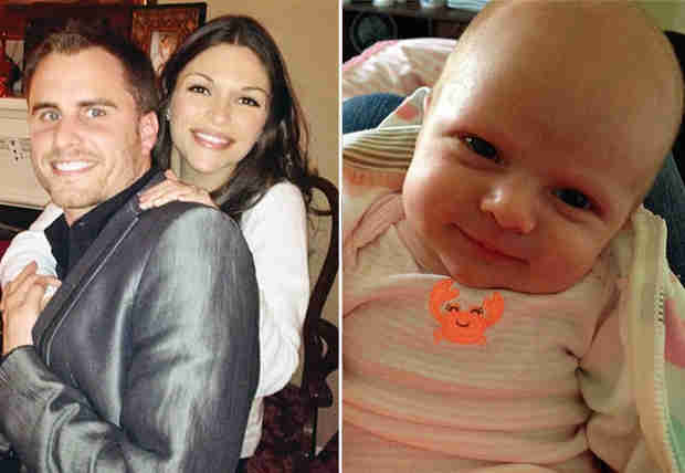 DeAnna Pappas and Stephen Stagliano's Baby Addison: More Like Mom or Dad? (PHOTO)