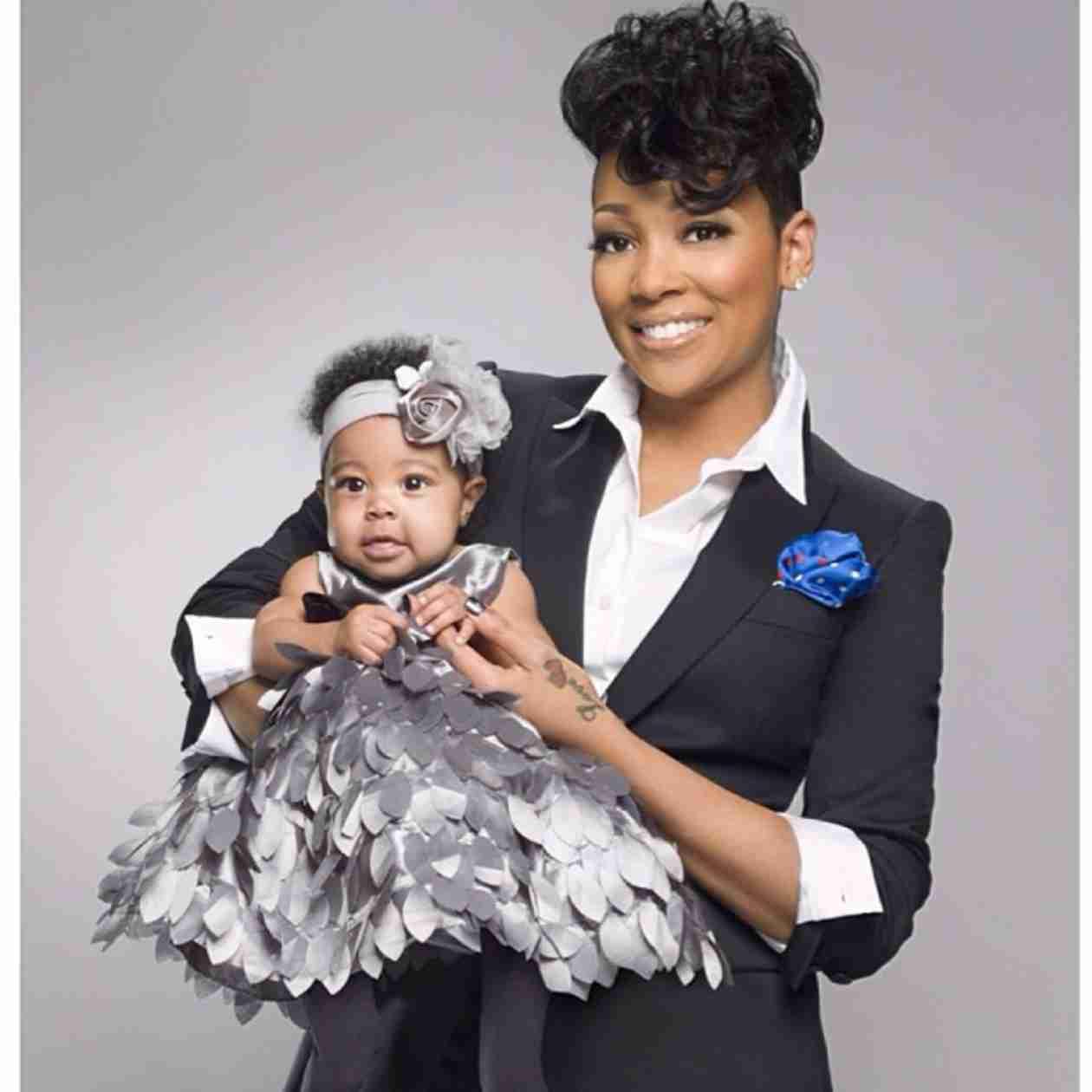 Monica Shares Flashback Photos of Daughter Laiyah As a Newborn! (PHOTOS)