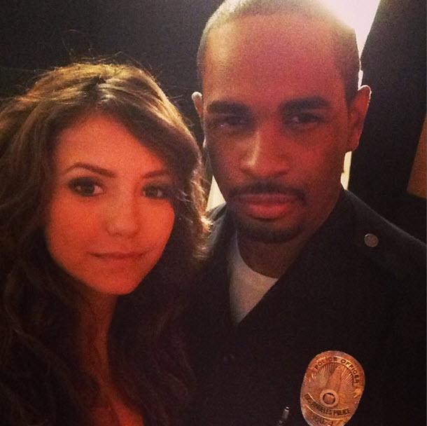 Nina Dobrev Goes Topless in Let's Be Cops Trailer With Damon Wayans Jr. (VIDEO)