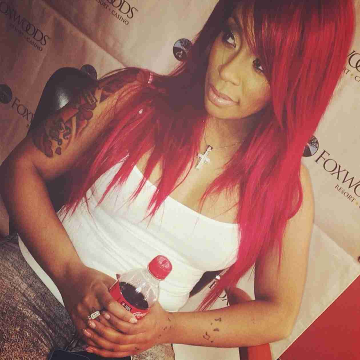K. Michelle Goes to Hospital, Thanks Fans For Support (PHOTO)