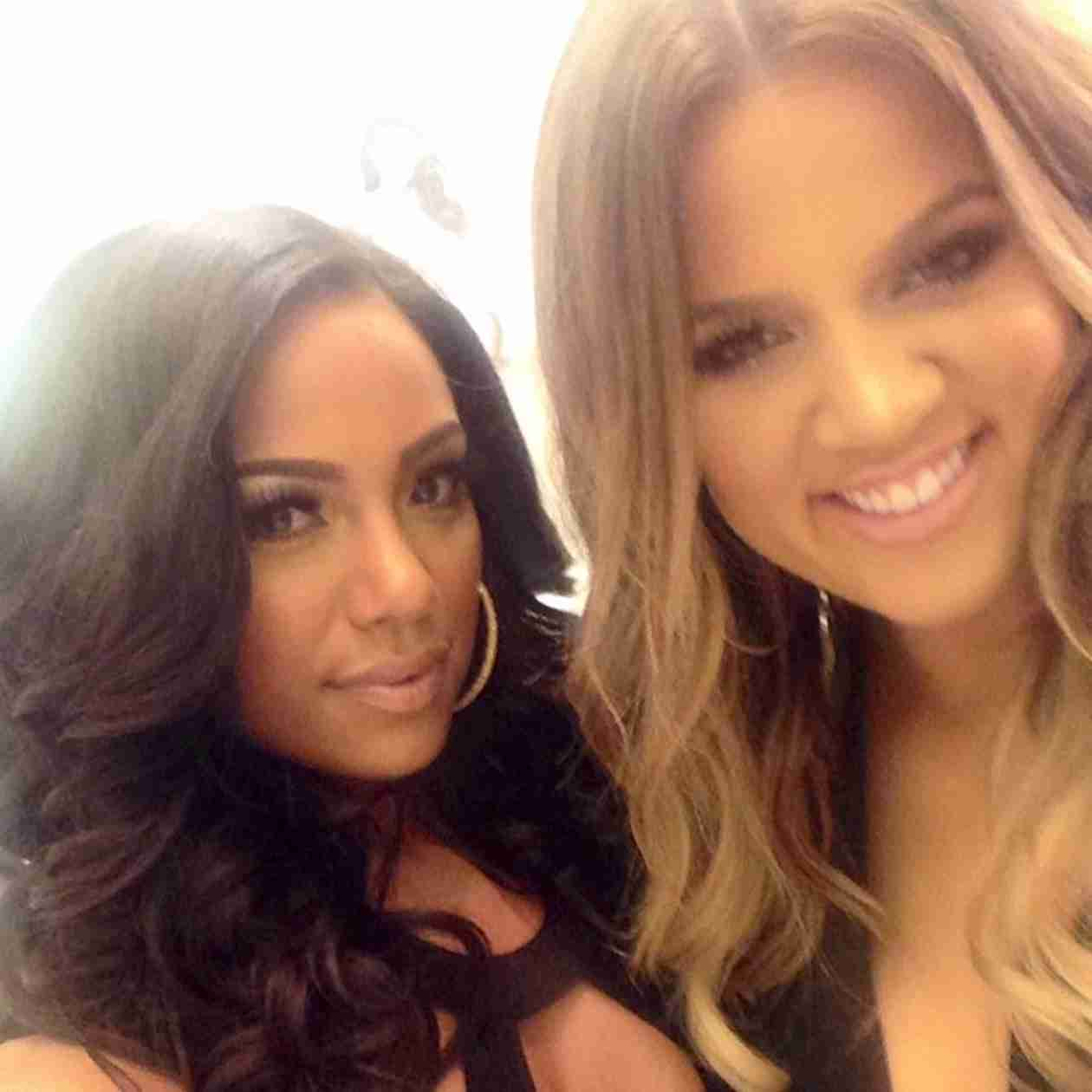 Erica Mena Parties With Kim and Khloe Kardashian at Dash Boutique Opening (PHOTOS)