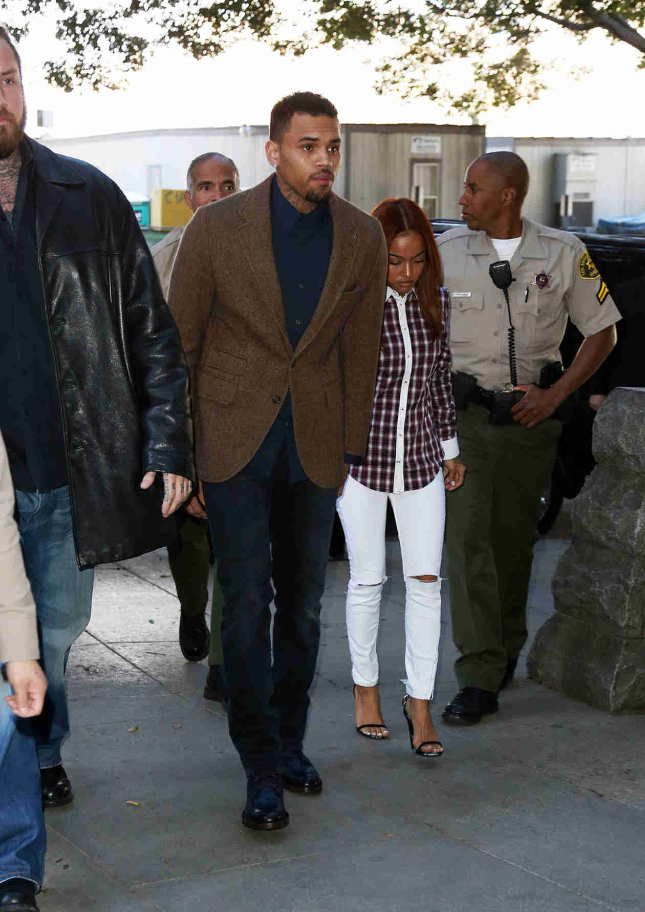 """Chris Brown Thrown Out of Rehab After """"Inappropriate Relationship"""" — Report (VIDEO)"""