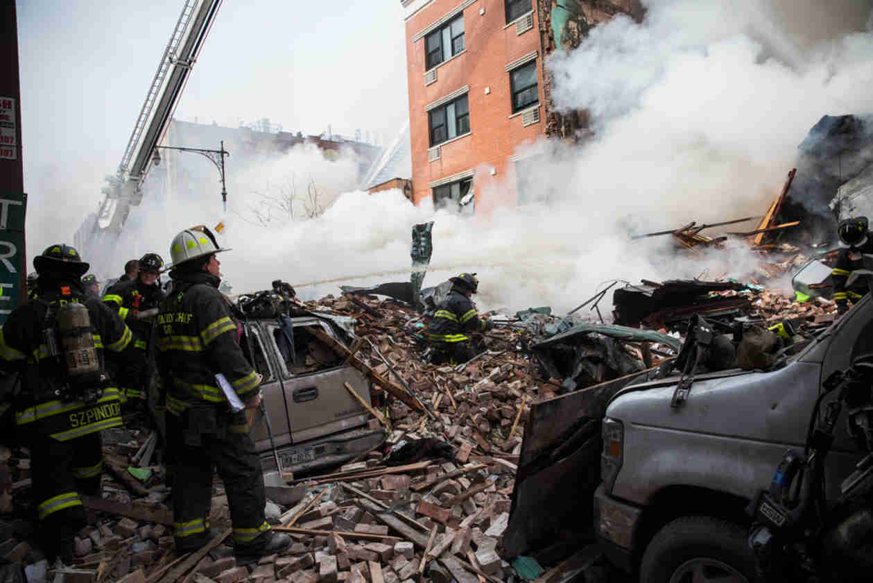 East Harlem Building Explosion: Celebrities React to the New York City Tragedy