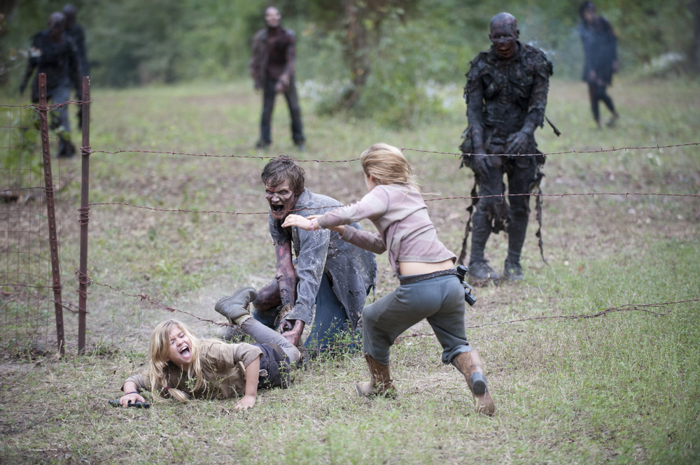 The Walking Dead Season 4: Will You Miss Mika and Lizzie?