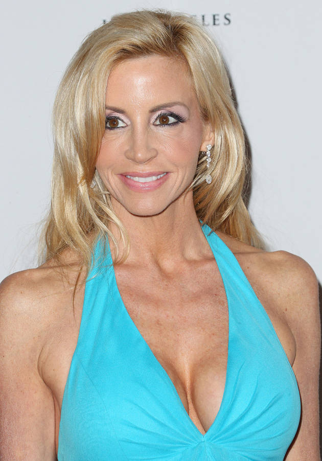 Camille Grammer Dishes About Her Huge Mansion — It's Still on the Market! (VIDEO)