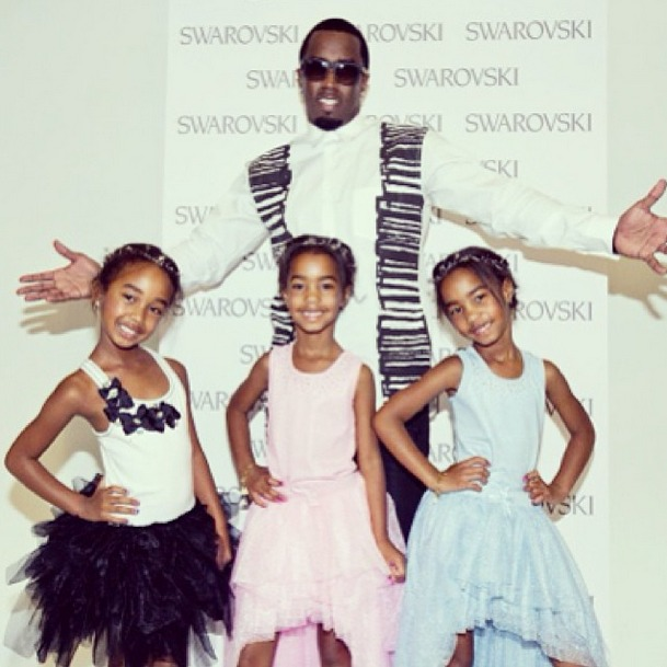 Do Diddy's Twin Daughters D'Lila and Jessie Look More Like Mom or Dad?