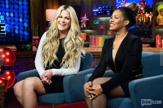 What Do Kim Zolciak and Sheree Whitfield Think of Kenya Moore?
