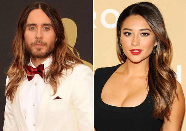 Pretty Little Liars Star Shay Mitchell and Jared Leto Are Hair Twins (PHOTO)