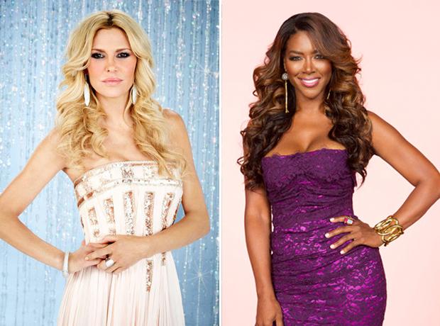 Kenya Moore Already Feuding With Brandi Glanville on the Celebrity Apprentice Set?