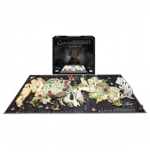 """Game of Thrones Giveaway: Win a """"4D"""" Westeros Puzzle! — New Winner Announced!"""