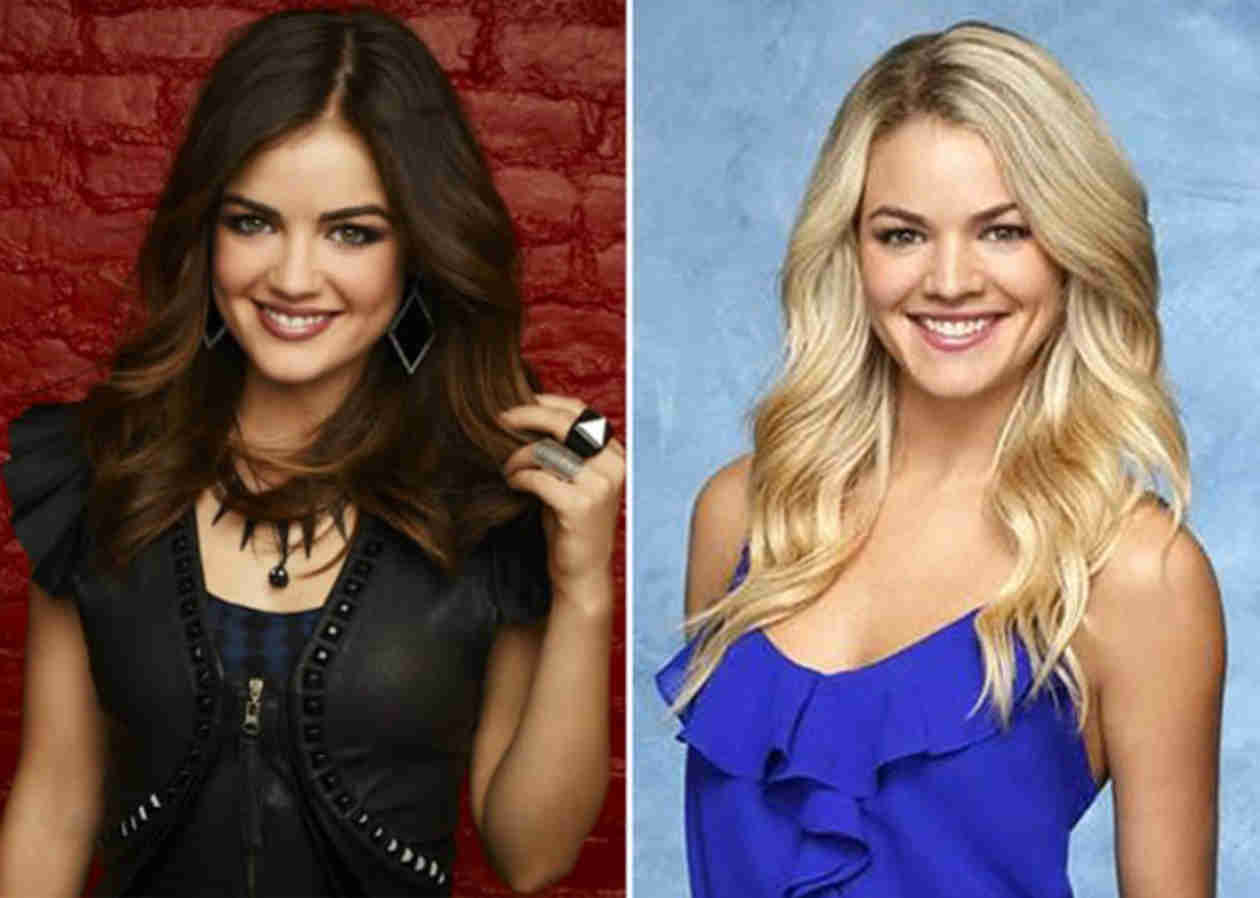 Bachelor Star Nikki Ferrell Is Lucy Hale's Doppelganger — And Here's Proof! (PHOTO)