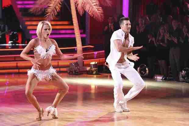 Dancing With the Stars 2014: James Maslow and Peta Murgatroyd's Week 7 Samba (VIDEO)