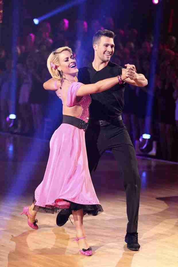 """Dancing With the Stars 2014: James Maslow Thinks Judges Were """"a Little Harsh"""" on Quickstep"""