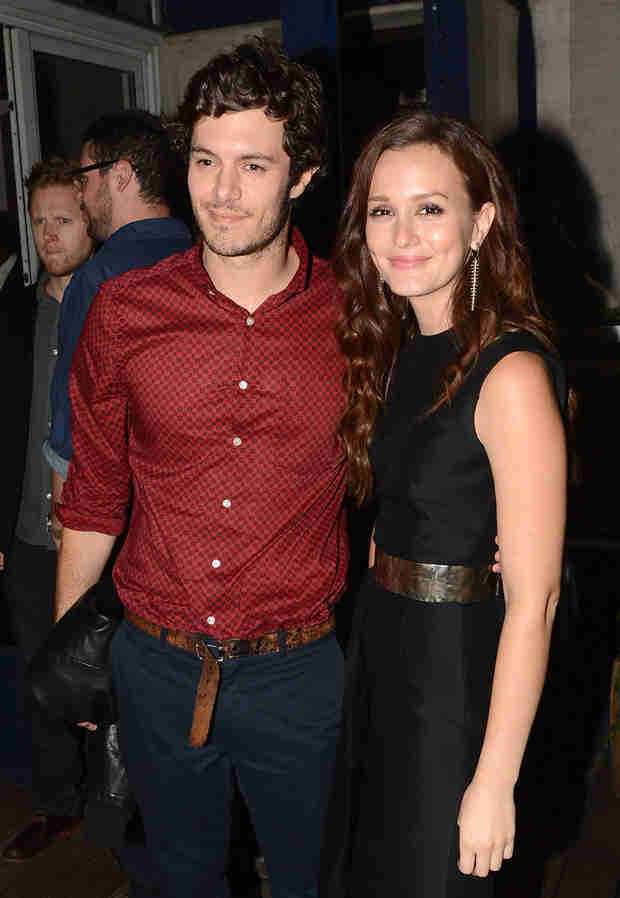 Leighton Meester Spills on Working With Hubby Adam Brody