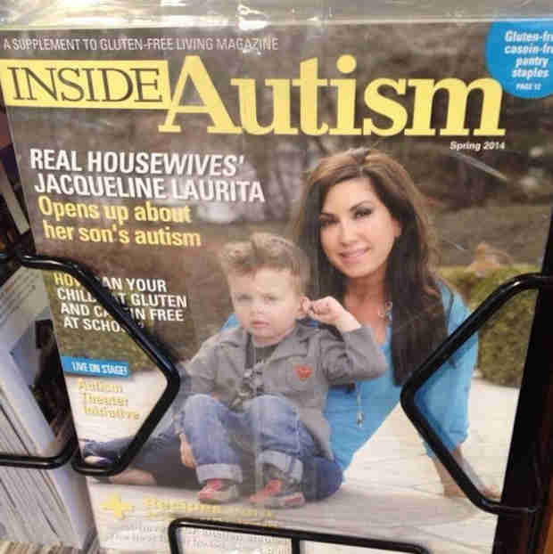 Jacqueline Laurita and Son Appear on Magazine Cover