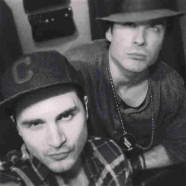 """Ian Somerhalder: I """"Love This Bromance"""" — And It's Not Paul Wesley! (PHOTO)"""