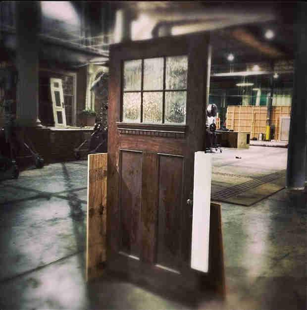 Vampire Diaries Spoilers: Where Does This Door Lead? Creepy! (PHOTO)