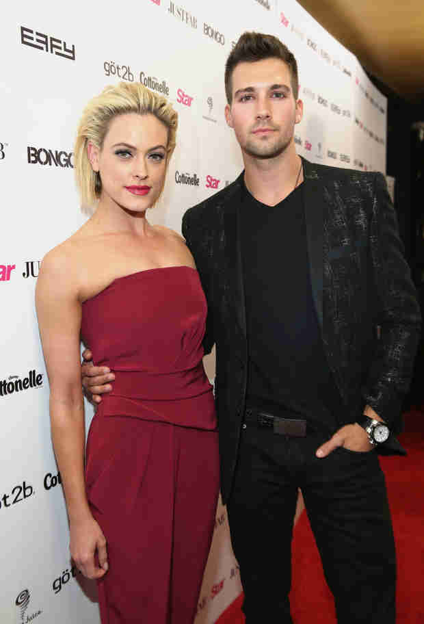 Peta Murgatroyd and James Maslow Get Cuddly at Star's Hollywood Rocks Event (PHOTO)