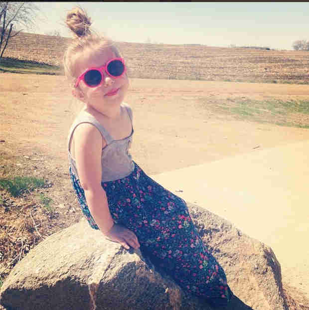 How Did Chelsea Houska's Daughter Get So Big? (PHOTO)