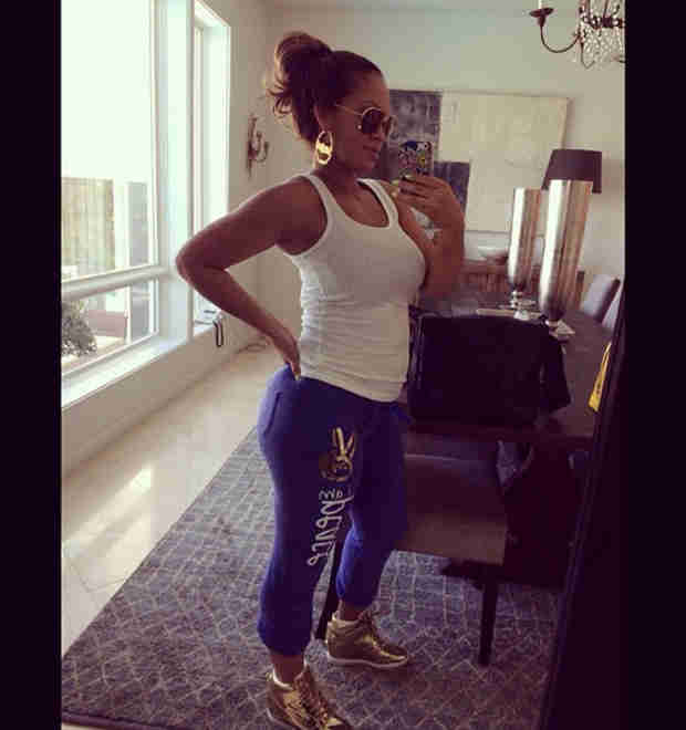 Evelyn Lozada's Amazing Post-Baby Body — See the First Pics! (PHOTO)