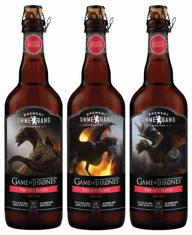 Game of Thrones Introduces Red Ale