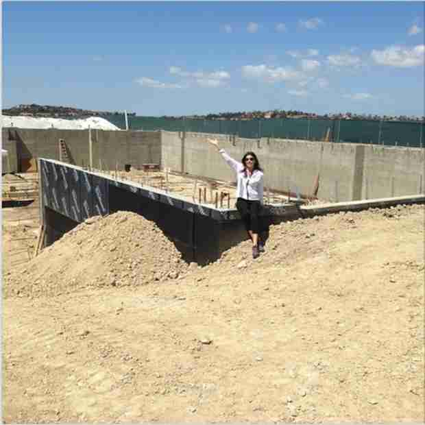 """Heather Dubrow's House Is Making Progress: """"Up, Up, Up We Go!"""" (PHOTO)"""